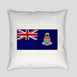 Cayman Islands Flag Everyday Pillow
