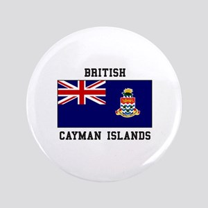 British Cayman Islands Button