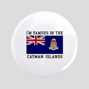 Famous Cayman Islands Button