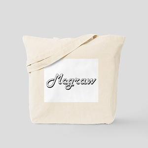 Mcgraw surname classic design Tote Bag