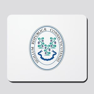 Connecticut State Seal Mousepad