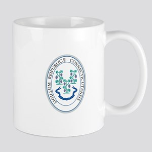 Connecticut State Seal Mugs