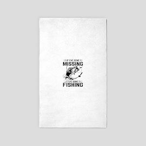 If I've Gone Missing Fishing Area Rug