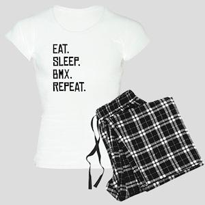 Eat Sleep BMX Repeat Pajamas