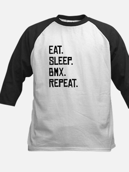 Eat Sleep BMX Repeat Baseball Jersey