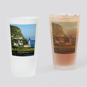 Point Loma Lighthouse Drinking Glass