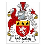 Wheatley Family Crest Small Poster