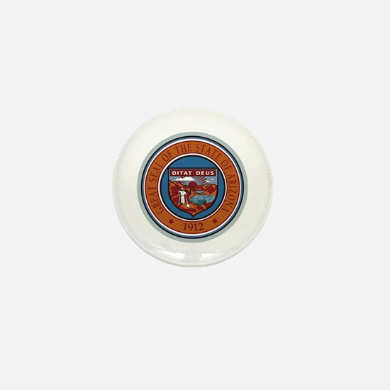 Arizona State Seal Mini Button