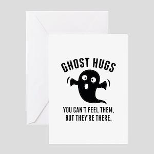Ghost Hugs Greeting Card