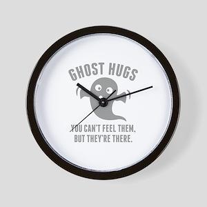 Ghost Hugs Wall Clock
