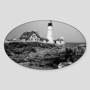 Portland Head Lighthouse Sticker (Oval)