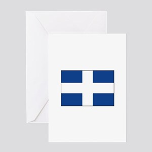 Zwolle, Netherlands Flag Greeting Cards