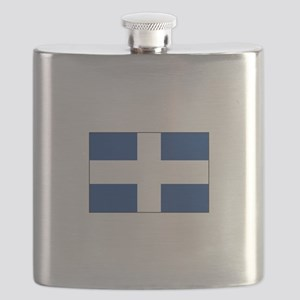 Zwolle, Netherlands Flag Flask