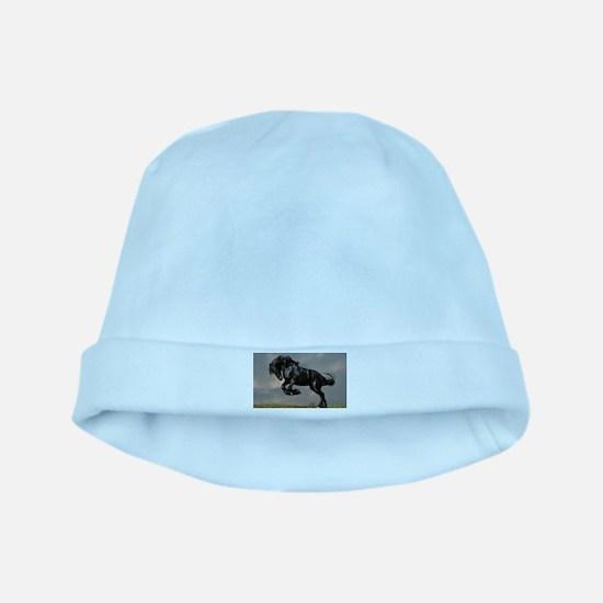 Beautiful Black Horse baby hat