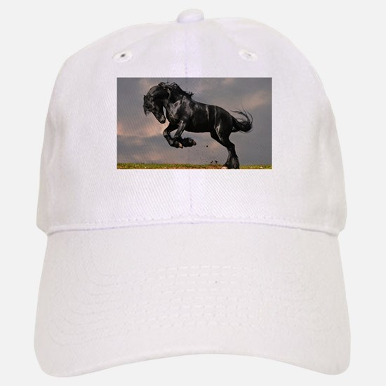 Beautiful Black Horse Baseball Baseball Baseball Cap