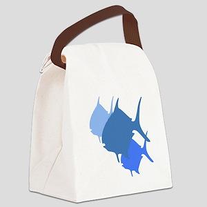 Pompano Fish Canvas Lunch Bag