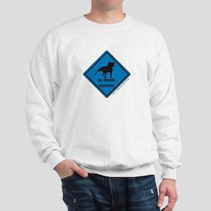 Piss On Animal Abusers Sweatshirt