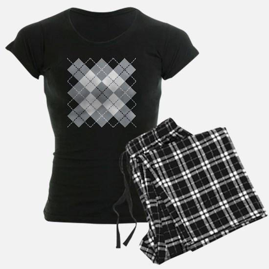 Argyle Design Pajamas