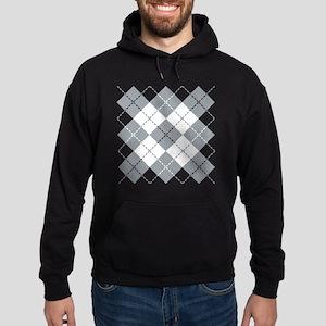 Argyle Design Hoodie (dark)