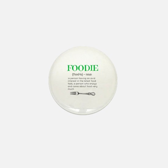 Foodie Definition  Mini Button