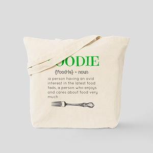 Foodie Definition  Tote Bag
