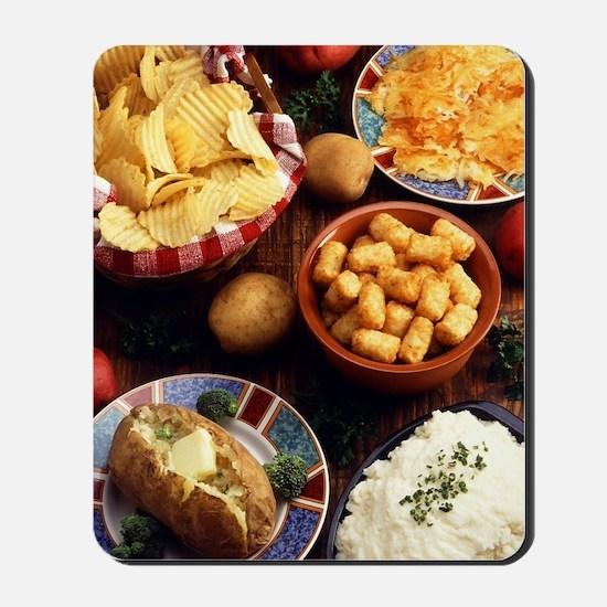Potato Foods Mousepad