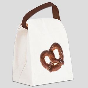 Salted Pretzel  Canvas Lunch Bag