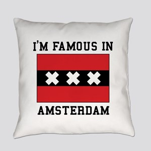 I'M famous in Amsterdam Everyday Pillow