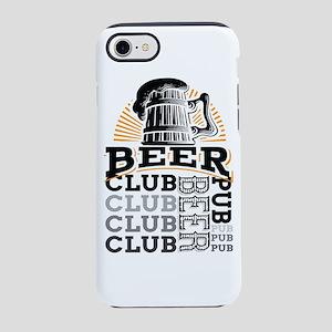Beer Club Pub iPhone 7 Tough Case
