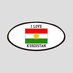 I Love Kurdistan Patch