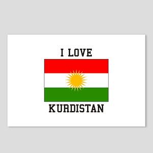 I Love Kurdistan Postcards (Package of 8)