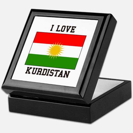 I Love Kurdistan Keepsake Box