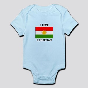 I Love Kurdistan Body Suit