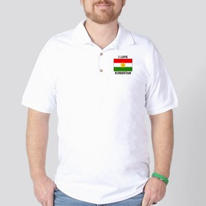I Love Kurdistan Golf Shirt