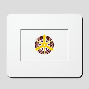 Kyoto, Japan Flag Mousepad