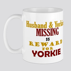 Husband & Yorkie Missing Mug