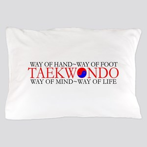 Tae Kwon Do Philosophy Pillow Case