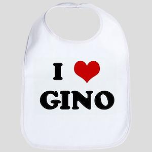 I Love GINO Bib