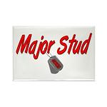 USCG Major Stud Rectangle Magnet (100 pack)