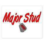 USCG Major Stud Small Poster