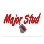 USCG Major Stud Postcards (Package of 8)