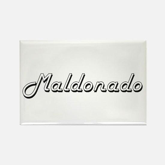 Maldonado surname classic design Magnets