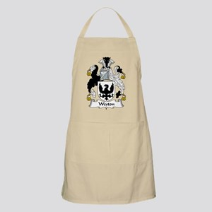 Weston Family Crest BBQ Apron