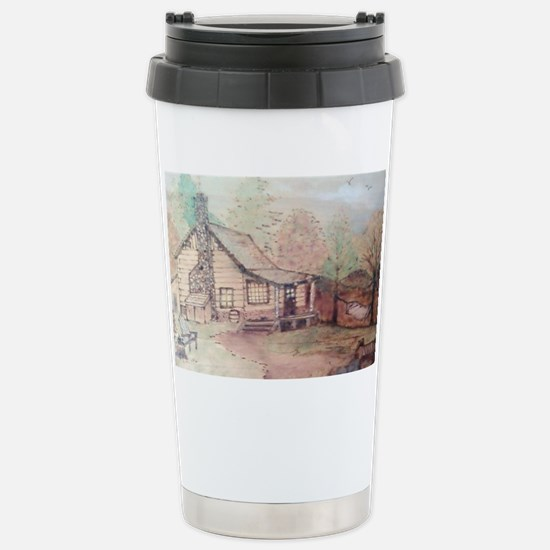 cabin in the woods Stainless Steel Travel Mug
