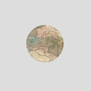 Vintage Map of The Roman Empire (1838) Mini Button