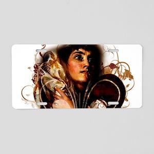 St. Joan of Arc: Fleur de L Aluminum License Plate