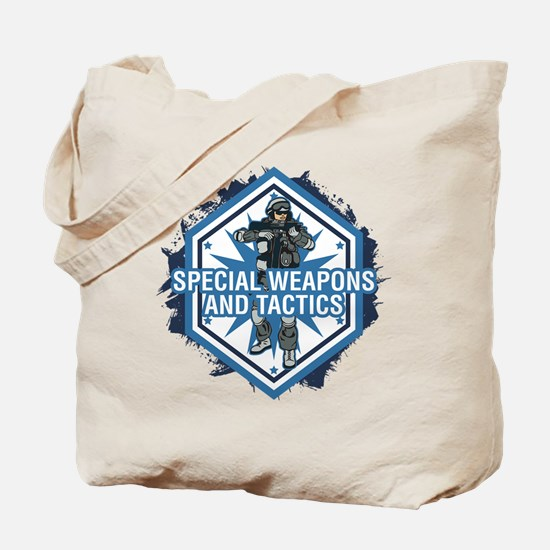 Special Weapons and Tactics Tote Bag