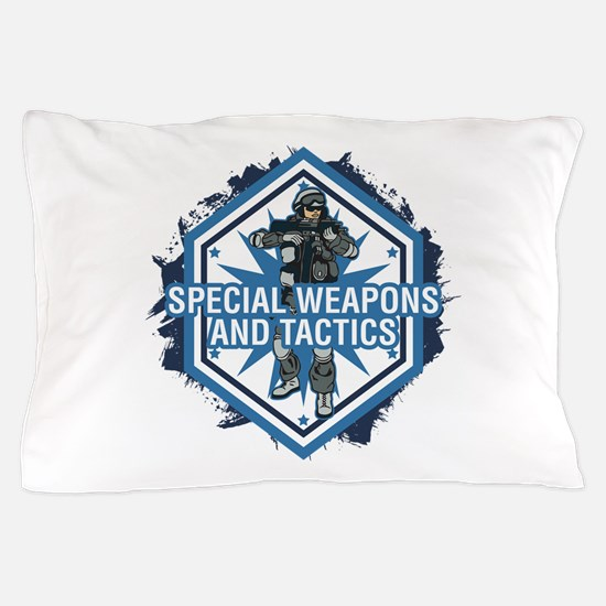 Special Weapons and Tactics Pillow Case