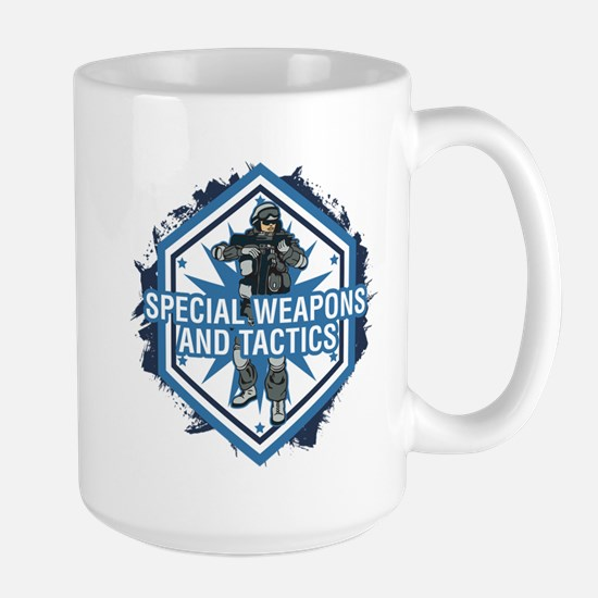 Special Weapons and Tactics Large Mug