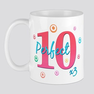 Perfect 10 x3 Mug